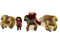 Mattel Dora The Explorer Pony 4 pc Lot