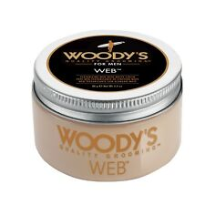 Woody's Web pomade 3.4 oz / 96 g woodys provides texture with matte finish