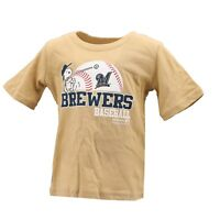 Milwaukee Brewers MLB Genuine Infant Toddler Size Snoopy T-Shirt New with Tags