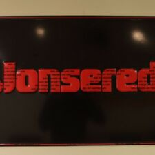 jonsered chain saw JONSERED TACKER SIGN / oem / new from dealer