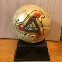 Adidas Fevernova 2002 FIFA World Cup Replica Ball Football Soccer With Pedestal