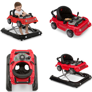 Andador 3 En 1 Juguete En Forma De Auto Jeep Centro De Actividades Para Bebés
