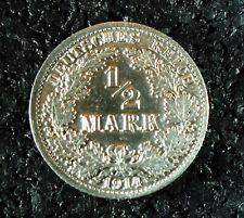 1/2 Mark - Dt. Kaiserreich - 1914 - A - (T5/663)