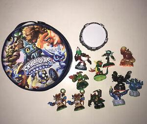Skylanders Spyros Adventure Carrying Case With Portal And 11 Figures