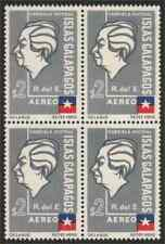 "Ecuador 1963 Galapagos block/""Ecuador"" omitted"
