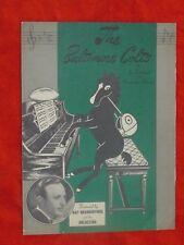 1947 BALTIMORE COLTS ORIGINAL SHEET MUSIC INAUGURAL SEASON *RARE*UNIQUE*