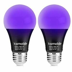 2pack Led Ultraviolet Black Light Uv Bulb Glow in the Dark Ultra Violet Neon✓✓