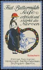 Reklamemarke Gutacherin Tracht Gutach - 445778
