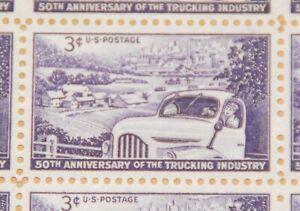 1953 sheet - Trucking Industry - Sc #1025