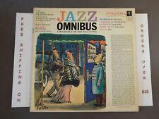 VA JAZZ OMNIBUS 1957 LP MILES DAVIS LOUIS ARMSTRONG DAVE BRUBECK DUKE ELLINGTON