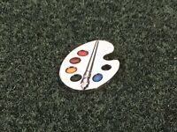 Golf Clear Paint Palette Ball Marker - Ping Odyssey Scotty Cameron Putter Users