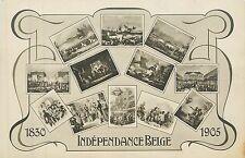 Belgium, Independance Belge 1830-1905 Early Real Photo Postcard