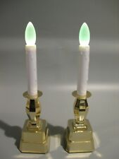 2 Battery Operated Window Candles on/off Change Colors LED