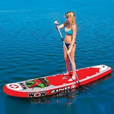 Zino Paddleboard WOW water-ski stand-up inflatable item 15-2040 11 FT.