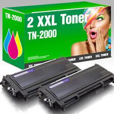2 XXL Toner kompatibel zu Brother TN-2000 HL 2030