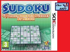 SUDOKU Nikoli (en boite+not) jeu pour console NINTENDO 3DS
