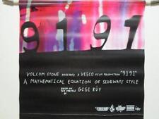 VOLCOM skateboard snowboard surf  GIGI RUF 9191 banner BIG New Old Stock