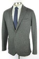 NWT $3895 LORO PIANA Novalis Grey Cashmere Sweater Jacket Blazer Coat 58 EU 48