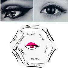 6 in 1 New Style Profeesional Makeup Cat Eye Eyebrow Eyeliner Stencil