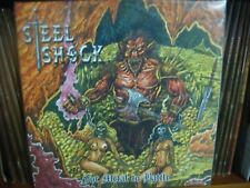 STEEL SHOCK ‎– For Metal To Battle LIM. 150 BLACK VINYL