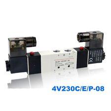 5/3 way control valve solenoid valve Double coil 4V230C/4V230E/4V230P-08