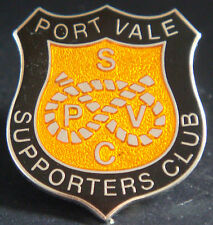 Port Vale FC sostenitori CLUB BADGE Stud raccordo in cromo 23mm x 25mm