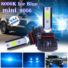 Ice Blue 8000K 9006 HB4 LED Headlight Foglight Kit Low Beam Bulbs