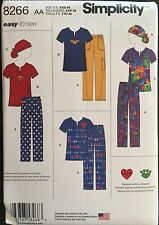 Simplicity Sewing Pattern 8266 Misses Scrubs Uniform Hat Sizes 4-16  EASY