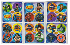 "80 Justice League Mini Stickers, 1.2"" Round Each, Party Favors"