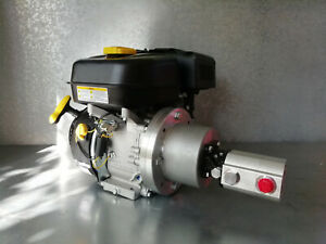 Hydraulikaggregat 6,5PS Benzin Motor + High-Low Pumpe