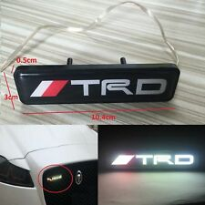 TRD LED Light Emblem Car Front Grille Badge For Toyota Camry Corolla Yaris 2018