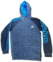 Adidas Hoodie Youth's Gray T-Shirt Size XL 15 - 16 Long Sleeves Pullover Men's M