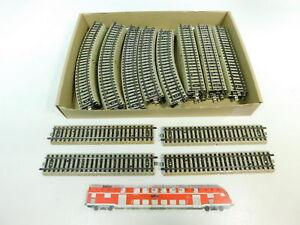 BR610-2# 36x Märklin H0/AC Gleisstück/Schiene M-Gleis 5106/5100/5120/5200