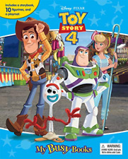 Toy Story 4: My Busy Book BOOKH NEW