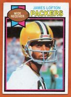 1979 Topps #310 James Lofton ROOKIE RC VG-VGEX+ Green Bay Packers FREE SHIPPING