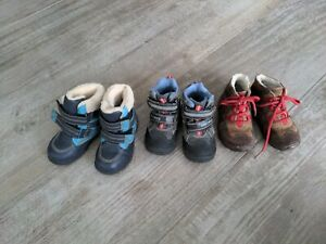 Schuhe 22 / 23 Stiefel Winter gefüttert Kinder Junge Greenies Elefanten