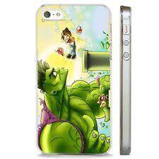 El disfraz de Hulk Super Mario Nintendo claro caso cubierta teléfono se ajusta iPHONE 5 7 8 X 6