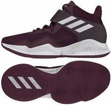 Mens Adidas Sm Explosive Bounce 2018 F35993 Maroon White Basketball Shoes New
