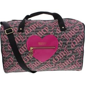 Juicy Couture Whole Lotta Love Women's Faux Leather Weekender Duffle Bag