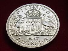 Australia . 1957 Florin..  Proof..   Mintage - 1256