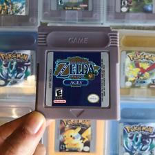 Zelda oracle of ages, zelda, legend of zelda, gameboy color, game boy, game cart