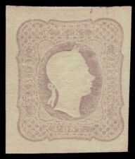 "AUSTRIA P7c (Mi23e) - Emperor Franz Josef ""Brownish Lilac"" (pf52183) $500"