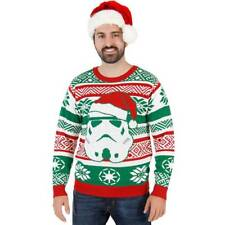 Christmas Couple Sweater Star Wars Women Men Shirt Jumper Pullover Tops