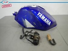 Yamaha YZF-R6 5EB Blue Fuel Tank Complete With Fuel Pump 1999 2000 2001 2002
