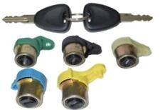 Kit complet de barillets / serrures pour Renault Kangoo 1 et Nissan Kubistar