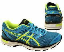 ASICS Gel-Excite 4 Amarillo Azul Cordones Zapatillas Running Hombre T6E3N 4107