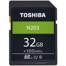 TOSHIBA N203 SD Card 32GB Memory Card U1 Class10 UHS-I SDHC SDXC Storage Card Fu