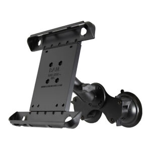 RAM Dual Suction Cup Mount for iPad Pro 10.5, 9.7, iPad 5th Generation, iPad Air