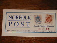 Norfolk Island :- Booklet MNH  SB 8 Coat of Arms (65)