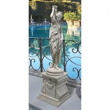 """39"""" Urn Carrier Greek Goddess Garden Statue Sculpture"""